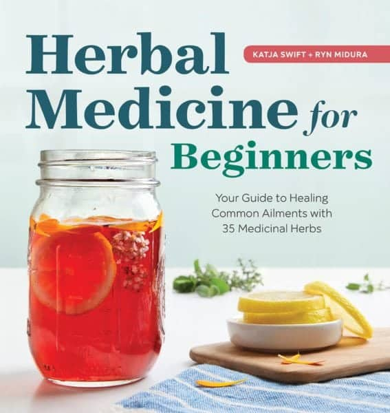 herbal medicine for beginners - book cover
