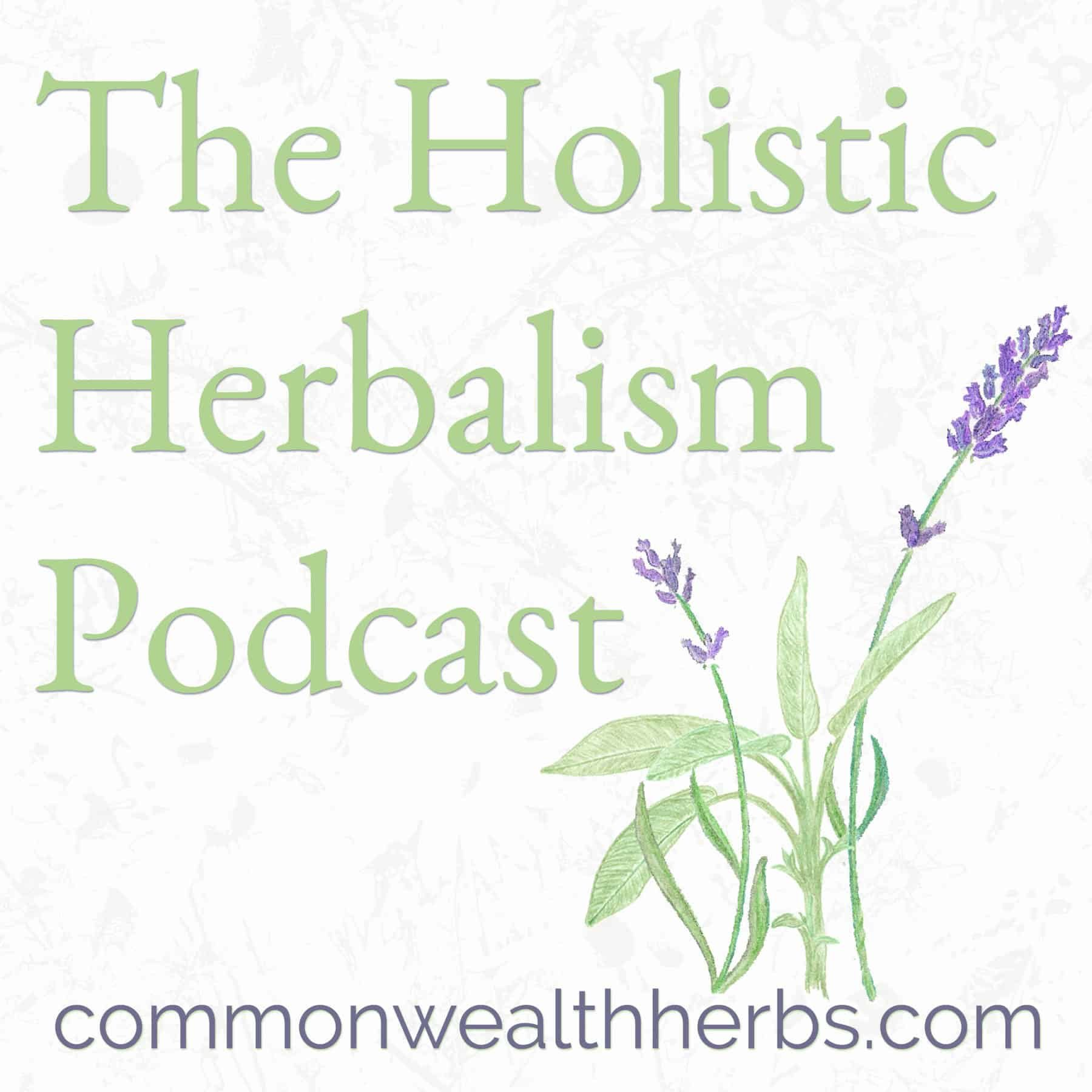 Holistic Herbalism Podcast logo